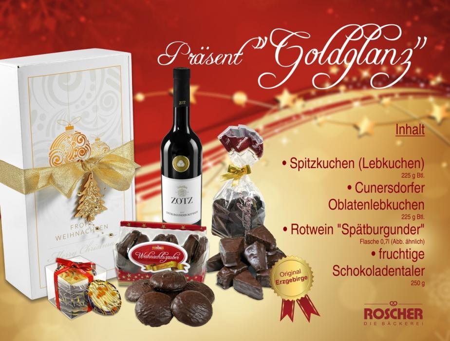 """Geschenkpaket """"Goldglanz"""""""
