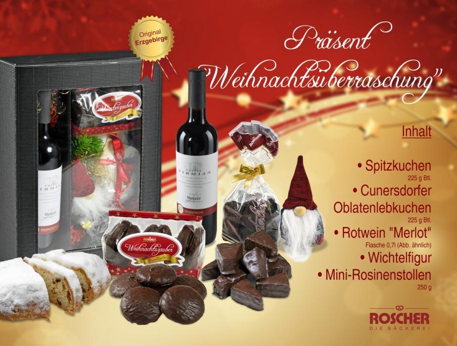 """Geschenkpaket """"Weihnachtsüberraschung"""""""