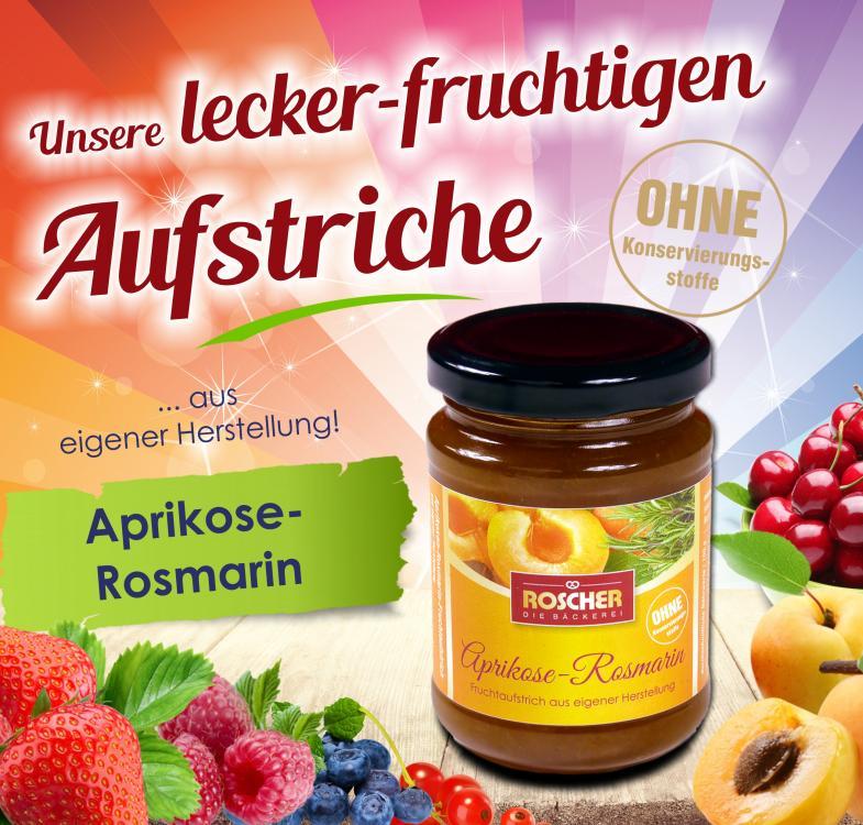 Fruchtaufstrich Aprikose/Rosmarin