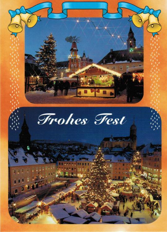 """Grußkarte """"Annaberger Weihnachtsmarkt"""""""