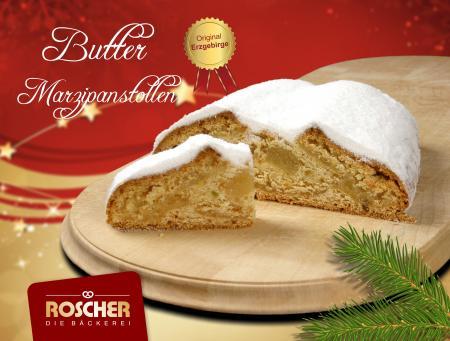 Butter-Marzipanstollen mit Dekorpuder 1000g